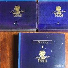 Libros de segunda mano: CURSO INGLÉS 1958 CCC POLIGLOPHONE TRES MODULOS. Lote 207875033