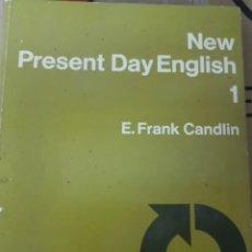Libros de segunda mano: PRESENT DAY ENGLISH 1 E. FRANK CANDLIN. Lote 207952632