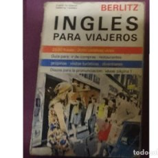 Libros de segunda mano: INGLES PARA VIAJEROS -PORTADAS MAL ESTADO. Lote 208167103