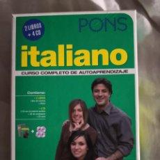 Libros de segunda mano: CURSO DE ITALIANO AUTOAPRENDIZAJE. Lote 208233253