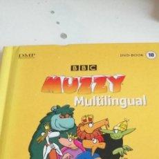 Livros em segunda mão: G-6 LIBRO BBC MUZZY MULTILINGUAL LEVEL II PART 4 DVD BOOK 10. Lote 208783426