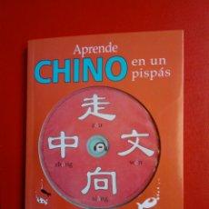 Libros de segunda mano: LIBRO + CD: APRENDE CHINO EN UN PIS PAS (CÍRCULO DE LECTORES, 2007) - IMPRESO EN CHINA -. Lote 209008511