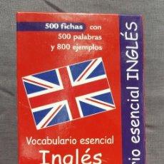 Libros de segunda mano: VOCABULARIO ESENCIAL: INGLÉS - NAUMANN & GÖBEL VERLAGSGESELLSCHAFT. Lote 209165556