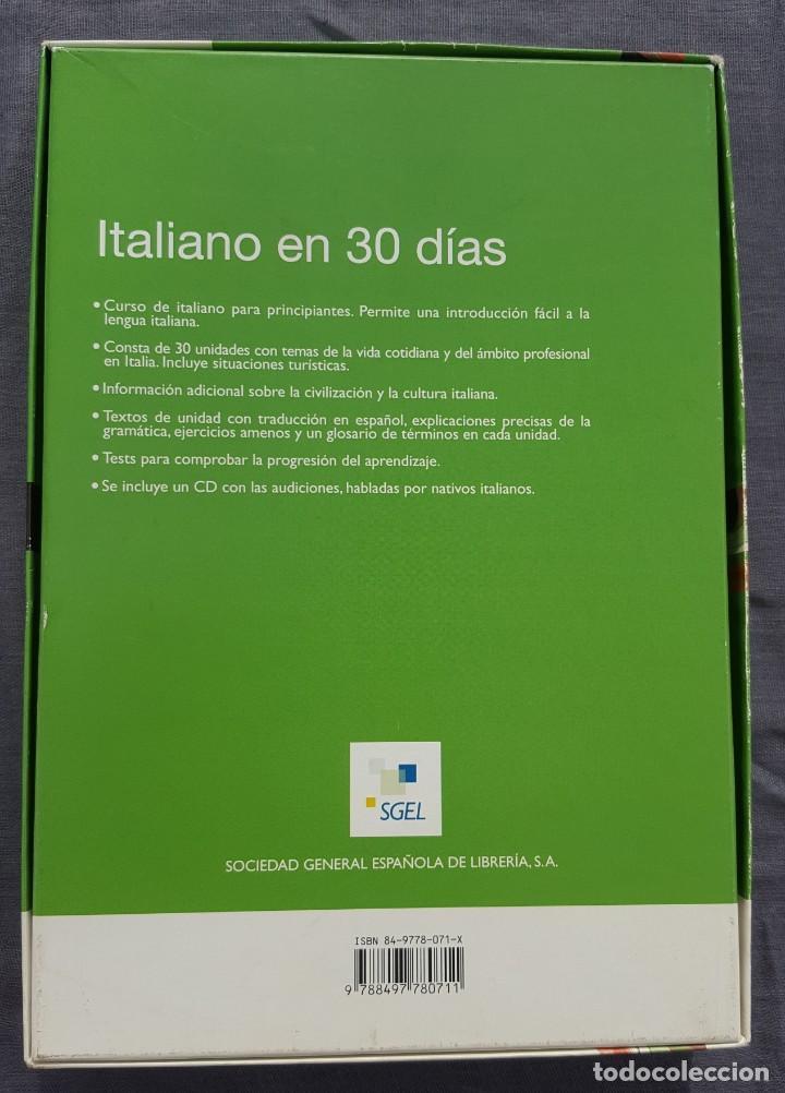 Libros de segunda mano: Curso de Italiano: Italiano en 30 días - Paola Frattola y Roberta Constantino - Foto 2 - 209165625
