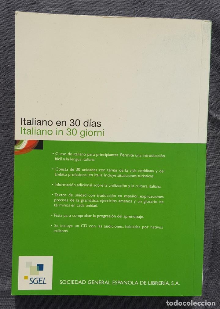Libros de segunda mano: Curso de Italiano: Italiano en 30 días - Paola Frattola y Roberta Constantino - Foto 5 - 209165625