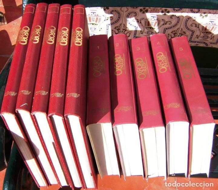 Libros de segunda mano: Enciclopedia Curso completo de Inglés Oxford English, 1991 - 5 Tomos y 25 Cassettes en 5 estuches - Foto 2 - 209980308