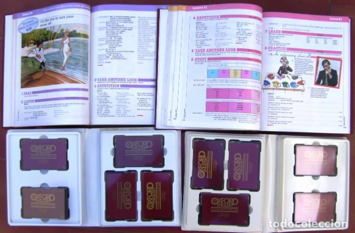 Libros de segunda mano: Enciclopedia Curso completo de Inglés Oxford English, 1991 - 5 Tomos y 25 Cassettes en 5 estuches - Foto 4 - 209980308