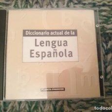 Libros de segunda mano: CDROM DICCIONARIO ACTUAL DE LA LENGUA ESPAÑOLA - ED. PLANETA AGOSTINI. Lote 210616642