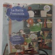 Libros de segunda mano: LA RATITA PRESUMIDA. Nº 8. VAUGHAN. EDICIÓN BILINGÜE ESPAÑOL-INGLES, CON CD. PRECINTADO. Lote 210687537