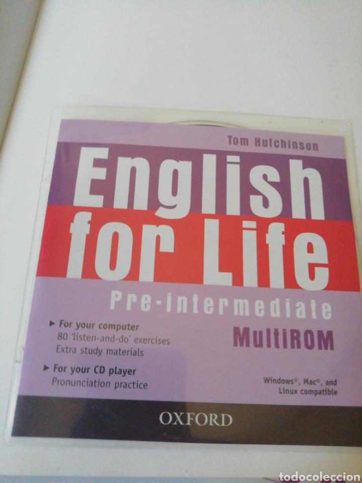 Libros de segunda mano: English for life - Pre-intermediate - Foto 5 - 211485134