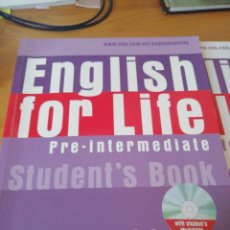 Libros de segunda mano: ENGLISH FOR LIFE - PRE-INTERMEDIATE. Lote 211485134