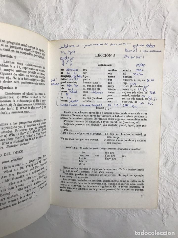 Libros de segunda mano: THE BBC ENGLISH COURSE. GETTING ON IN ENGLISH. CALLING THE BEGINNERS. DISCOS. CURSO DE INGLÉS - Foto 15 - 211511616