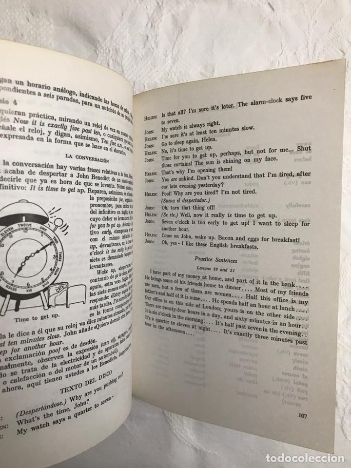 Libros de segunda mano: THE BBC ENGLISH COURSE. GETTING ON IN ENGLISH. CALLING THE BEGINNERS. DISCOS. CURSO DE INGLÉS - Foto 17 - 211511616