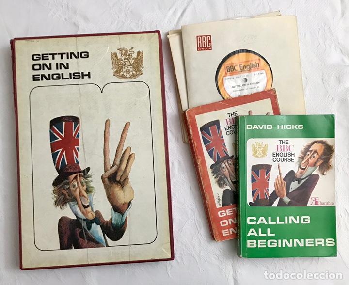 THE BBC ENGLISH COURSE. GETTING ON IN ENGLISH. CALLING THE BEGINNERS. DISCOS. CURSO DE INGLÉS (Libros de Segunda Mano - Cursos de Idiomas)