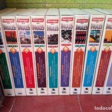 Libros de segunda mano: CURSO DE INGLÉS - TIEMPO - MÉTODO DE AUTOAPRENDIZAJE - 10 CINTAS VHS + 10 CASETES - DEL PRADO, 1994. Lote 211756670