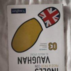Libros de segunda mano: INGLÉS PASO A PASO VAUGHAN 03 CON COMPACT DISC. Lote 212056435