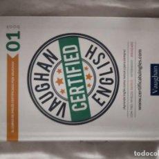 Libros de segunda mano: VAUGHAN CERTIFIED ENGLISH 01 CON COMPACT DISC. Lote 212056650