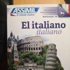 Libros de segunda mano: ASSIMIL EL ITALIANO NIVEL B2 2017. Lote 212059095