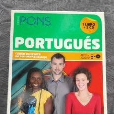 Libros de segunda mano: CURSO COMPLETO DE AUTOAPRENDIZAJE: PORTUGUÉS - SIMONE SABINO Y REGINA LINO. Lote 212310923