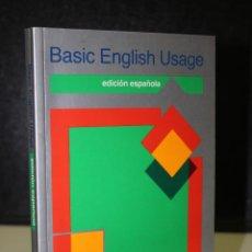 Livres d'occasion: BASIC ENGLISH USAGE. EDICIÓN ESPAÑOLA.. Lote 212745373