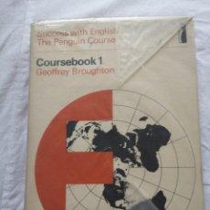 Libros de segunda mano: SUCCESS WITH ENGLISH THE PENGUIN COURSE 1968. Lote 213770017