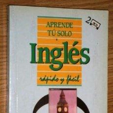 Libros de segunda mano: APRENDE TÚ SOLO INGLÉS POR DIETHARD LÜBKE DE ED. PIRÁMIDE EN MADRID 1988. Lote 214628337