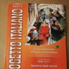 Libros de segunda mano: CORSO MULTIMEDIALE DI LINGUA E CIVILTÀ ITALIANA. LIVELLO INTERMEDIO B1 - B2. QUADERNO DEGLI ESERCIZI. Lote 214824482