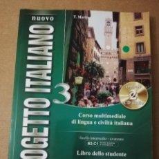 Libros de segunda mano: CORSO MULTIMEDIALE DI LINGUA E CIVILTÀ ITALIANA. LIVELLO INTERMEDIO - AVANZATO B2 - C1 (2 CD AUDIO). Lote 214824747