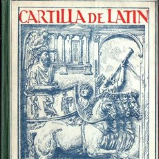 Libros de segunda mano: EMILIO FORNÉS : CARTILLA DE LATIN (LIBR. GENRAL, 1954). Lote 215462795