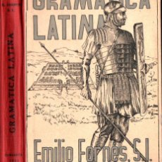 Libros de segunda mano: EMILIO FORNÉS : GRAMÁTICA LATINA (1954). Lote 215462993