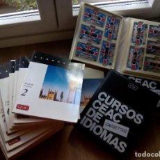 Libros de segunda mano: CURSO DE INGLÉS. LANGUAGES CEAC 1996. AUDIOVISUAL. Lote 216955403