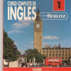 Libros de segunda mano: CURSO COMPLETO DE INGLES. VOLUMEN 1. GRUPO EDITORIAL OCEANO.(T/20). Lote 218214783