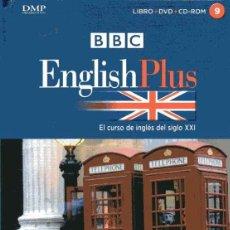 Libros de segunda mano: BBC ENGLISH PLUS - EL CURSO DE INGLÉS DEL SIGLO XXI 9 - LIBRO + DVD + CD. Lote 218274461