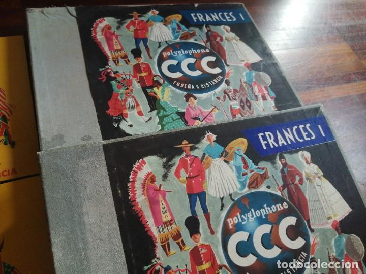Libros de segunda mano: Polyglophone. Curso de francés CCC. Nivel 1 completo. 1958. 6 discos 12 lecciones. - Foto 2 - 218403668