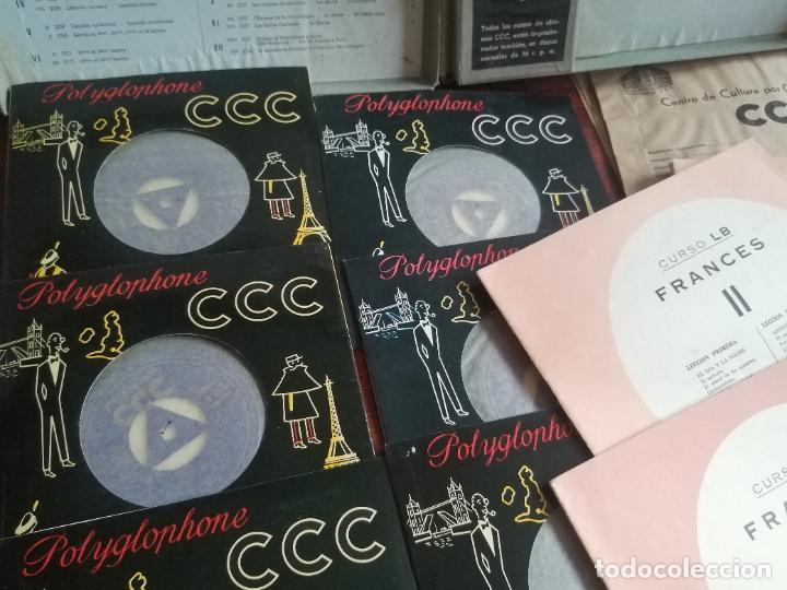 Libros de segunda mano: Polyglophone. Curso de francés CCC. Nivel 1 completo. 1958. 6 discos 12 lecciones. - Foto 5 - 218403668