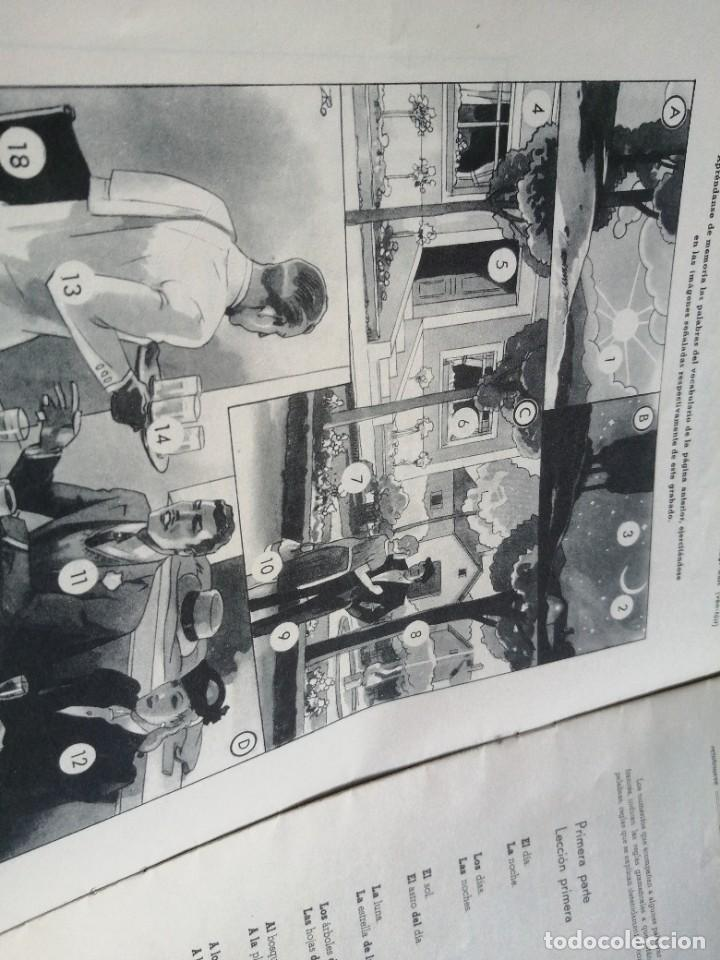 Libros de segunda mano: Polyglophone. Curso de francés CCC. Nivel 1 completo. 1958. 6 discos 12 lecciones. - Foto 8 - 218403668