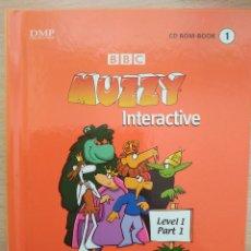 Libros de segunda mano: CD ROM-BOOK MUZZY INTERACTIVE LEVEL 1 PART 1 BBC MULTILINGUAL ESPAÑOL INGLÉS FRANCÉS ALEMÁN ITALIANO. Lote 218695143