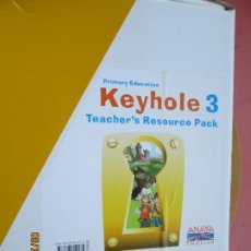 Libros de segunda mano: KEYHOLE 3 - TEACHER'S RESOURCES PACK - (ANAYA- ENGLISH) - 2012 - VER DESCRIPCIÓN Y FOTOS.. Lote 219121542