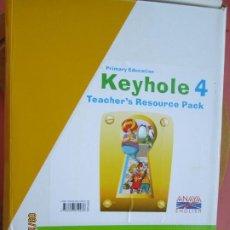 Libros de segunda mano: KEYHOLE 4 - TEACHER'S RESOURCES PACK - (ANAYA- ENGLISH) - 2012 - VER DESCRIPCIÓN Y FOTOS.. Lote 219122208