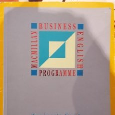 Libros de segunda mano: BUSINESS ENGLISH PROGRAMME - MACMILLAN - TRAINER'S GUIDE ELEMENTARY - BADGER, MENZIES - 1993. Lote 219410076