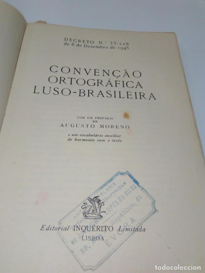 Libros de segunda mano: A Convençao Ortográfica Luso-Brasileira - Foto 4 - 220978283