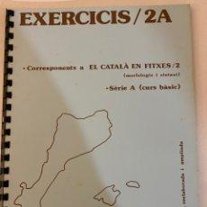 Libros de segunda mano: EL CATALÀ FÀCIL EXERCICIS 2A. JOSEP RUAIX I VINYET. Lote 221009770