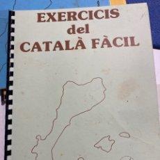 Libros de segunda mano: EL CATALÀ FÀCIL EXERCICIS . JOSEP RUAIX I VINYET. Lote 221009783