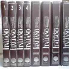 Libros de segunda mano: CURSO DE ITALIANO PLANETA-AGOSTINI (4 TOMOS). Lote 221097750
