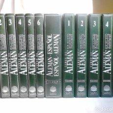 Libros de segunda mano: CURSO DE ALEMÁN PLANETA-AGOSTINI COMPLETO (1986). EN PERFECTO ESTADO. Lote 220434560