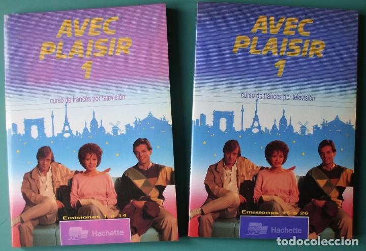 CURSO DE FRANCES AVEC PLAISIR (CONSTA DE DOS LIBROS Y DOS CASETTES). (Libros de Segunda Mano - Cursos de Idiomas)