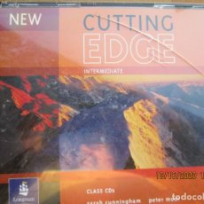 Libros de segunda mano: CUTTING EDGE NEW EDITION - CLAS AUDIO 4 CD,S - INTERMEDIATE - SARAH CUNNINGHAM , PETER MOOR, JONA. Lote 222496123