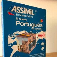 Libros de segunda mano: ASSIMIL. PORTUGUÉS SIN ESFUERZO. LIBRO + MP3 COMO NUEVO, 2008. Lote 222573150