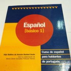 Libros de segunda mano: CURSO DE ESPAÑOL PARA HABLANTES DE PORTUGUÉS. BASICO 1 S1256AT. Lote 222867576