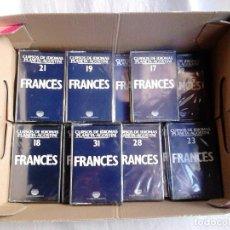 Libros de segunda mano: 32 CASSETTES DEL CURSO DE FRANCÉS PLANETA-AGOSTINI (TODOS LOS DE LA COLECCIÓN). Lote 222402467